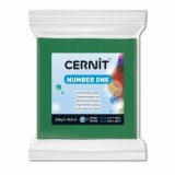 CERNIT number one zelená 250 g (600)