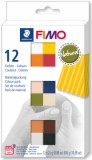 FIMO soft sada Natural - 12 barev