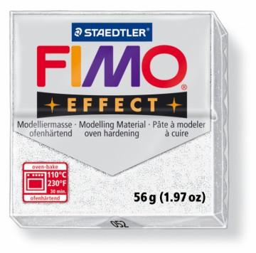 FIMO effect metalická bílá 56 g (052)