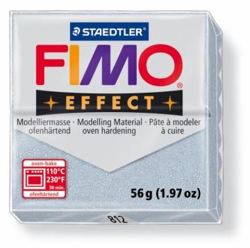 FIMO effect stříbrná 56 g (812)