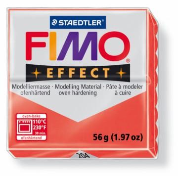 FIMO effect transparentní červená 56 g (204)