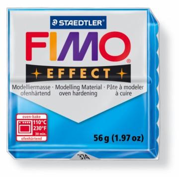 FIMO effect transparentní modrá 56 g (374)