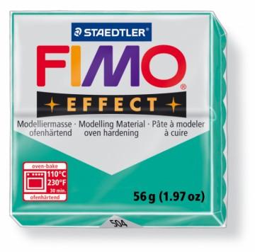 FIMO effect transparentní zelená 56 g (504)