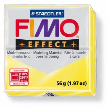 FIMO effect transparentní žlutá 56 g (104)