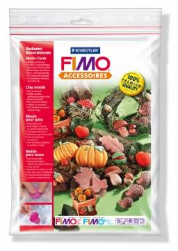 Fimo silikonová forma - Podzimní dekorace