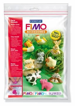 Fimo silikonová forma - Zvířátka ze statku