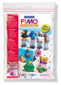 Fimo silikonová forma - Veselá zvířátka