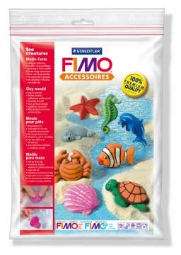 Fimo silikonová forma - Moře