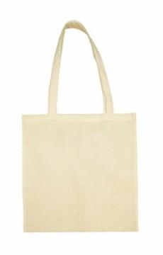 Bavlněná taška s dlouhým uchem, barva přírodní