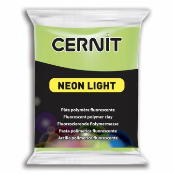 CERNIT neon light zelená 56 g (600)