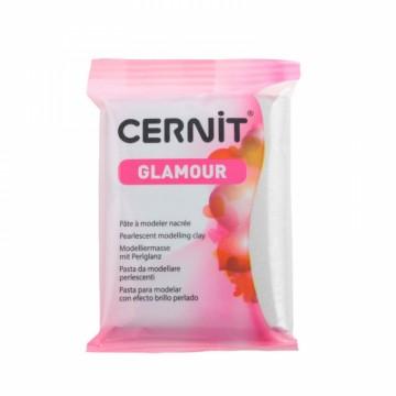 CERNIT glamour stříbrná 56 g (080)