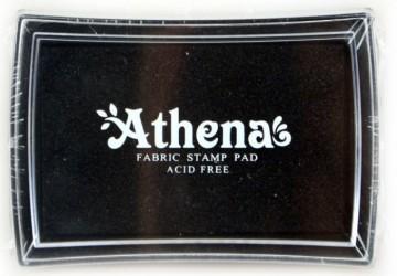 Poduška pro razítkování na textil ATHENA – černá