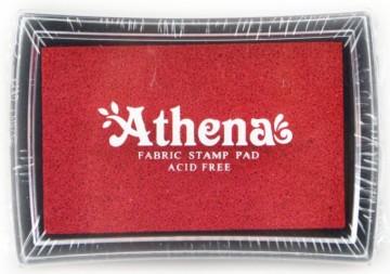Poduška pro razítkování na textil ATHENA – červená