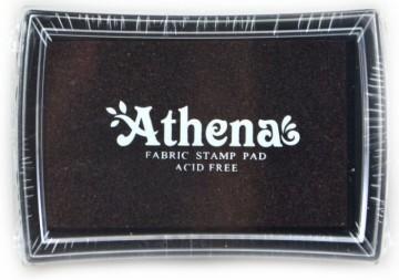Poduška pro razítkování na textil ATHENA – hnědá
