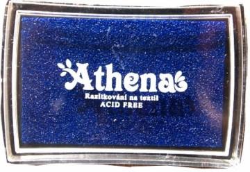 Poduška pro razítkování na textil ATHENA – modrá