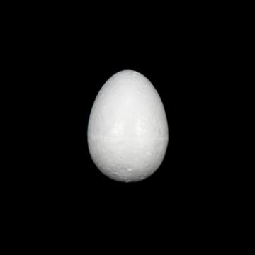 Polystyrenové vejce 60 x 40 mm (1 ks)