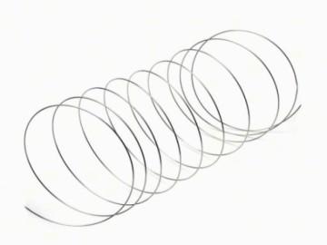 Paměťový drát na náramek menší (10 otoček), platina