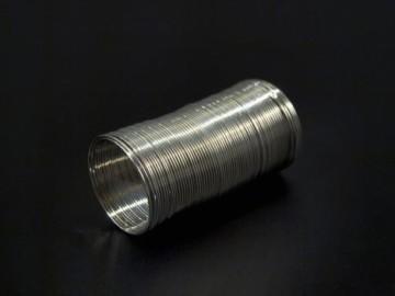 Paměťový drát na výrobu prstýnků (10 otoček), platina