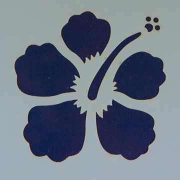 Šablona plastová 8x8 cm, motiv IBIŠEK