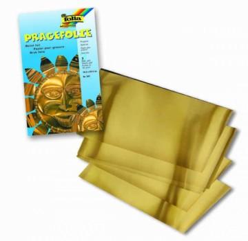 Hliníková folie zlatá 3 ks