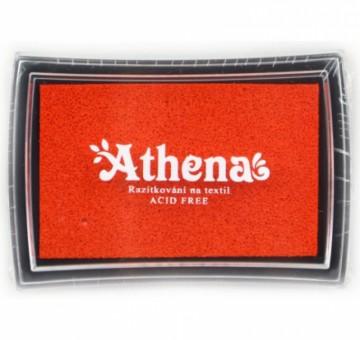 Poduška pro razítkování na textil ATHENA – oranžová