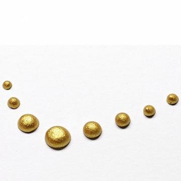 Tekuté perly 30 ml – zlaté