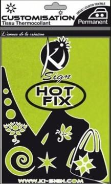 Hot-fix nažehlovací fólie sametová zelená