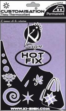 Hot-fix nažehlovací fólie sametová levandulová