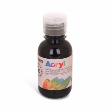 Akrylová barva Primo 125 ml – černá