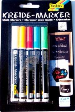 Křídové fixy – sada 5 barev