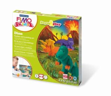 FIMO kids sada – Dinosauři