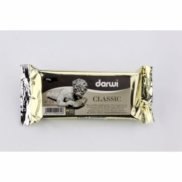 Samotvrdnoucí modelovací hmota Darwi 250 g – bílá