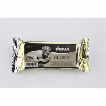 Samotvrdnoucí modelovací hmota Darwi 500 g – bílá
