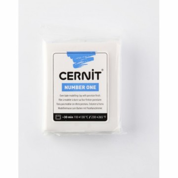 CERNIT number one bílá porcelánová 56 g (010)