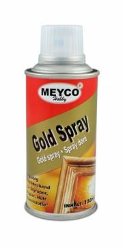 Metalický sprej zlatý 150 ml