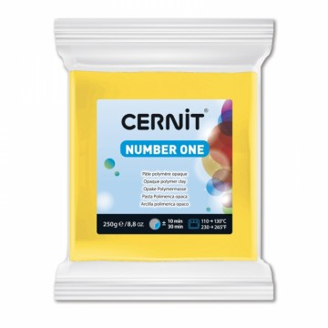 CERNIT number one žlutá 250 g (700)