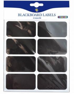 Tabulové štítky 75x40 mm, 24 ks