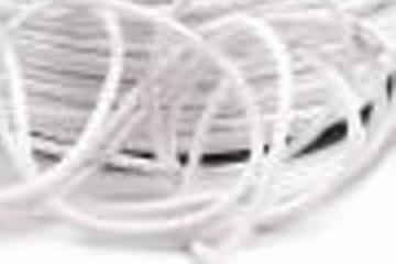 Šňůra bavlněná voskovaná 1,5 mm délka 3 m - bílá