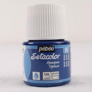 Setacolor 45 ml džínově modrá barva na textil č. 84
