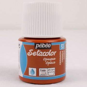 Setacolor 45 ml skořicová barva na textil č. 93
