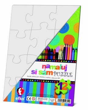 Čisté puzzle obdélník