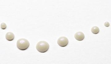 Tekuté perly 30 ml – krémové