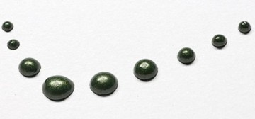 Tekuté perly 30 ml – tmavě zelené