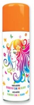 Barva na vlasy ve spreji 125 ml - oranžová