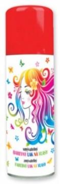 Barva na vlasy ve spreji 125 ml - červená