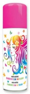 Barva na vlasy ve spreji 125 ml - růžová