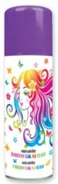 Barva na vlasy ve spreji 125 ml - fialová