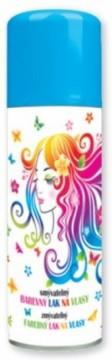 Barva na vlasy ve spreji 125 ml - světle modrá