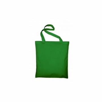 Bavlněná taška s dlouhým uchem, barva zelená