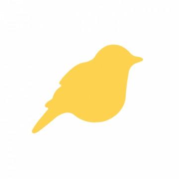 Ozdobná děrovačka - ptáček 2,5 cm